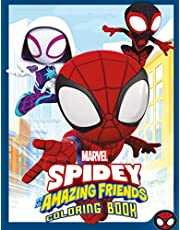 Spidey And His Amazing Friends Coloring Book: Amazing Gift For Kids