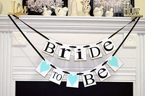 Bride to Be banners Bride to be chair sign chair banner Bridal Shower Decorations & Amazon.com: Bride to Be banners Bride to be chair sign chair ...