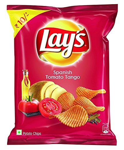 Lay's Potato Chips, Spanish Tomato Tango, 30 grams - India