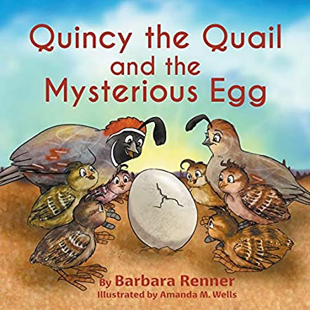 Quincy the Quail and the Mysterious Egg