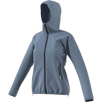 649f09619a679 adidas Agravic Alpha Hooded Shield Jacket Women s  Amazon.co.uk ...