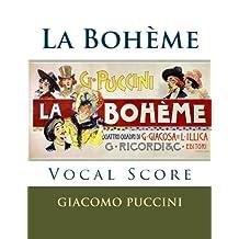 La Boheme - vocal score (Italian and English): Ricordi edition