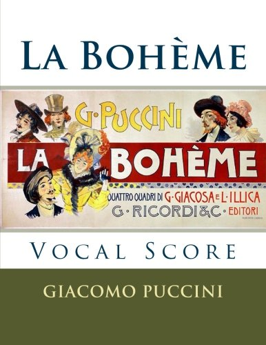La Boheme - vocal score (Italian and English): Ricordi edition (English and Italian (Vocal Score Italian)