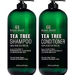 Botanic Hearth Tea Tree Shampoo