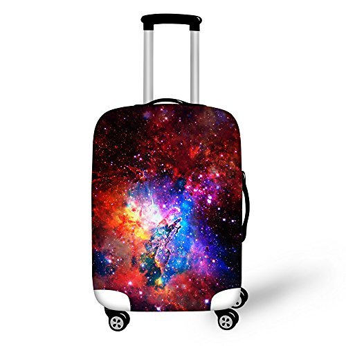 Youngerbaby Galaxy Print Luggage Cover Suitcase Protective Cover 20/24/28 Inch