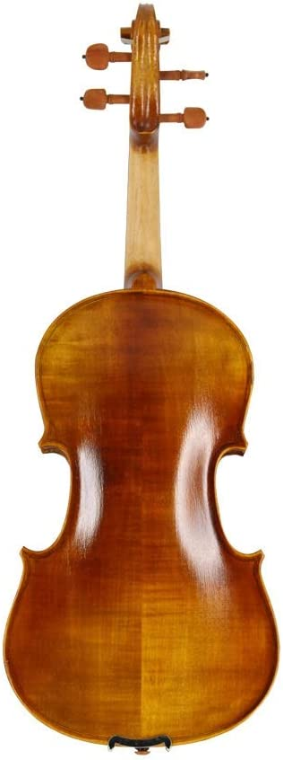 Color : Brown-3//4 ACHKL Flat-grade student beginners to practice violin wood ebony fingerboard ACHKL