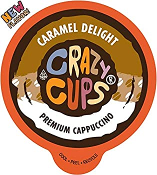 Crazy Cups Flavored Cappuccino K-cups