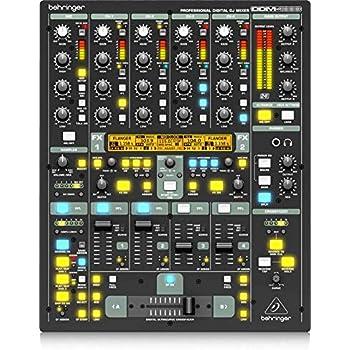 behringer digital pro mixer ddm4000 ultimate 5 channel digital dj mixer musical. Black Bedroom Furniture Sets. Home Design Ideas