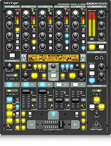 Behringer Digital Pro Mixer DDM4000 Ultimate 5-Channel Digital DJ Mixer (The Best Dj Mixer)