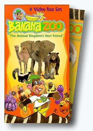 Amazon Com Banana Zoo Box Set Vhs Banana Zoo Movies Tv