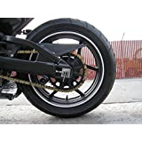 """White Silver Reflective Wheel Stripes Decals Rim Tape Fits Motorcycle Wheels 17"""" fits Car Wheels 16""""-18"""""""