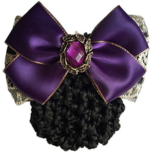 best accessories for purple dress - 8