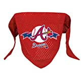 Hunter MFG Atlanta Braves Mesh Dog Bandana, Small