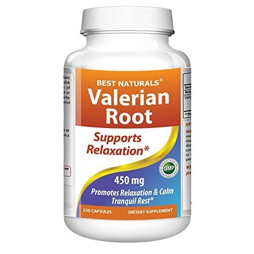 Buy best naturals valerian root ,250 capsules,450 mg