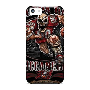 AnnaDubois Iphone 5c Shock Absorbent Cell-phone Hard Cover Customized High-definition Tampa Bay Buccaneers Pattern [ifb10707wZTh]