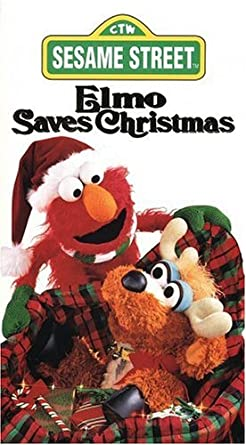 Elmo Saves Christmas.Amazon Com Elmo Saves Christmas Vhs Charles Durning