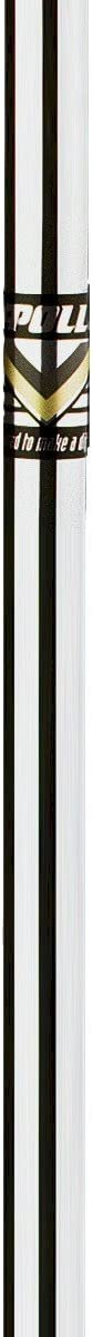 Apollo One (1) Stepless Steel Golf Iron Shaft-R/S Regular/Stiff Flex-Chrome Color