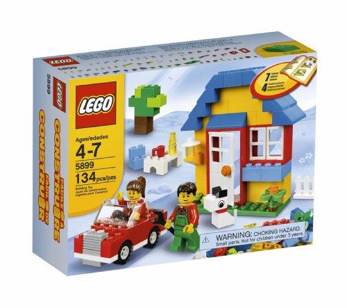 LEGO House Building Set (5899) (Tiles Windows Roof Doors)
