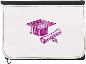 محفظة  بتصميم شعار يوم التخرج، قماش جينز