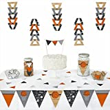 Nothin' But Net - Basketball - Triangle Party Decoration Kit - 72 Pieces