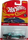 Classics Series 3 -#22 '69 Corvette Red 5-Spoke Redlines 1:64 Scale Collectible Die Cast Car with a Special Spectraflame Paint