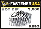 """1 1/2"""" Ring A153-D HOT DIP Coil Roofing Nails"""