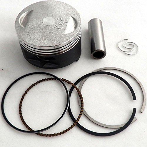 (YunShuo 57.4mm Piston Rings Wrist Pin Cir Clips Chinese Scooter Parts 157QMJ Scooter GY6 150cc )