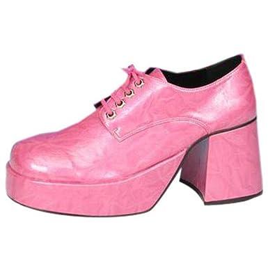 Amazon.com: Adult's Pink Platform Shoes (Size:Large 12-13): Clothing