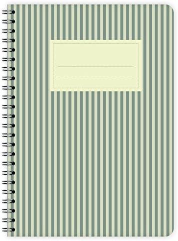 etmamu 495 Notizblock Streifen A5, 60 Blatt blanko