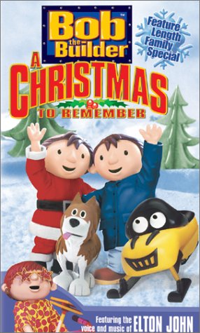 Bob the Builder - Holiday Video 2003 - A Christmas to Remember [VHS] (Bob The Builder A Christmas To Remember Vhs)