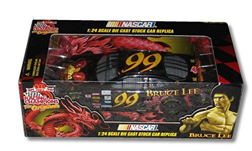 :NASCAR Racing Champions #99 Bruce Lee 1:24 Scale Die Cast Stock Car Replica