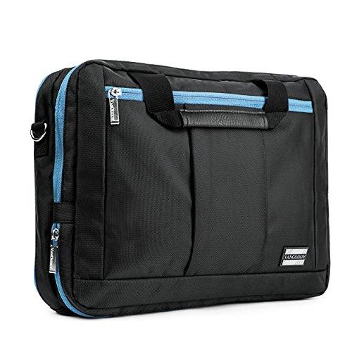 VanGoddy El Prado [Aqua Trim] Hybrid 3-in-1 Bag for HP : Pavilion (15 Gaming Laptop), EliteBook (840, 850 G2, 755 G3) ProBook (640 645 650 655 G1, 440, 450 G2) 14