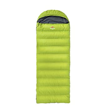 YHJM Abajo Saco de Dormir al Aire Libre Que acampa Invierno Grueso Pato Caliente Saco de Dormir Ultra Ligero portátil Adulto Saco de Dormir Interior(Green): ...