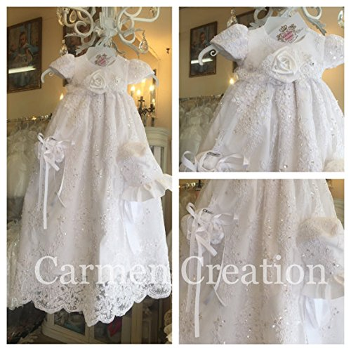 Sarah Baptism Gown by Carmen Creation