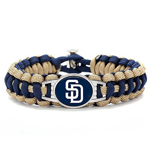 Swamp Fox Premium Style San Diego Padres Baseball Team Adjustable Paracord Survival -