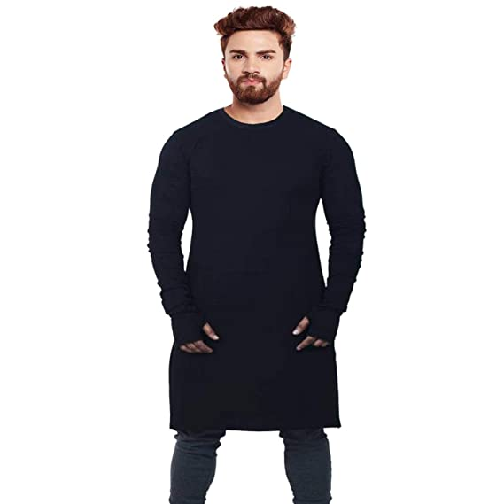 a98a104e9d6ee JMD Enterprises Men s Full Sleeve Cotton Regular Fit Long T-Shirt Antra.   Amazon.in  Clothing   Accessories