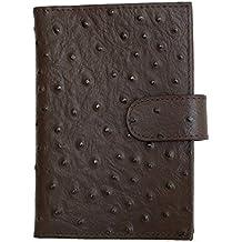 Women's Brown Genuine Leather Passport Holder Kristy.X