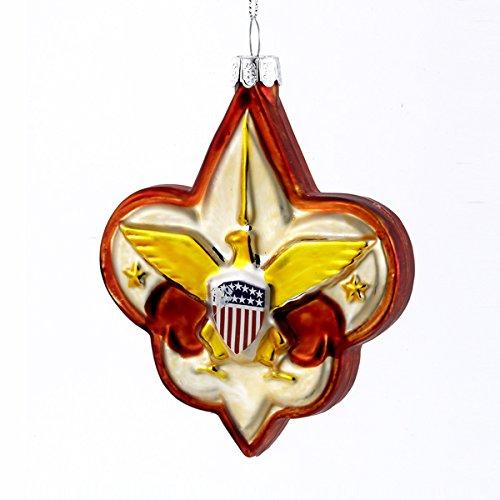 Logo Ornament (Kurt Adler Glass Boy Scout Logo Ornament)
