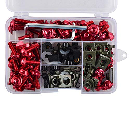 (Iris-Shop - CNC Fairing Bolts Kit Bodywork Screws Nut For Honda CBR600RR CBR900RR CBR929RR CBR1000RR CBR 600RR 900RR 929RR 1000RR )