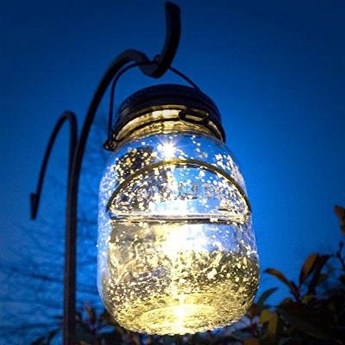 Malibu Solar Mason Jar Led Lamp Glass Firefly Jars That