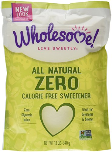 Wholesome Sweeteners Zero, 12-Ounce Bag (Pack of (Natural Zero Calorie Sweetener)
