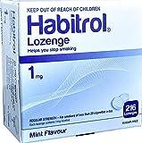 Habitrol Nicotine Lozenge 1mg Mint Flavor. 3 Packs