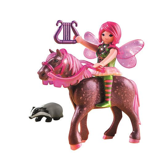 Playmobil Forest Fairy Surya with Horse