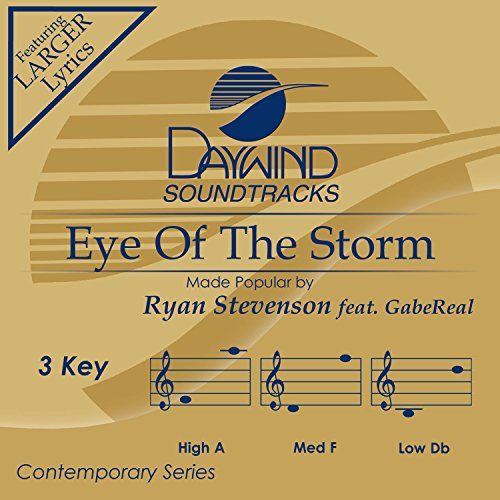 Eye Of The Storm [Accompaniment/Performance Track]