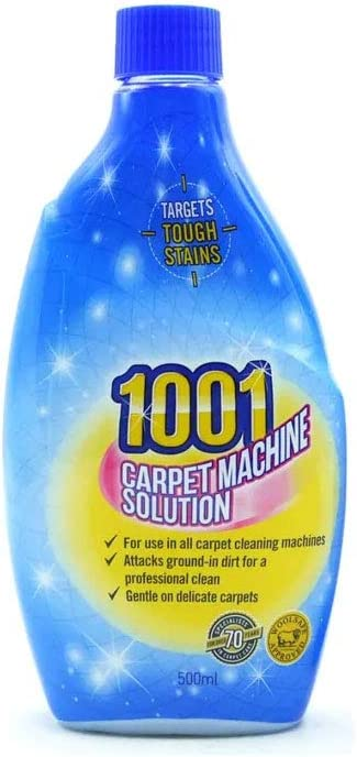 1001 Machine 3 In 1 Carpet Cleaner Shampoo 500ml X 2 Used With Vax Rug Doctor Amazon Co Uk Kitchen Home