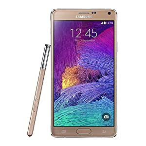 Samsung Galaxy Note 4 N910H 32GB Unlocked GSM Octa-Core Cell Phone - Gold (Certified Refurbished)…