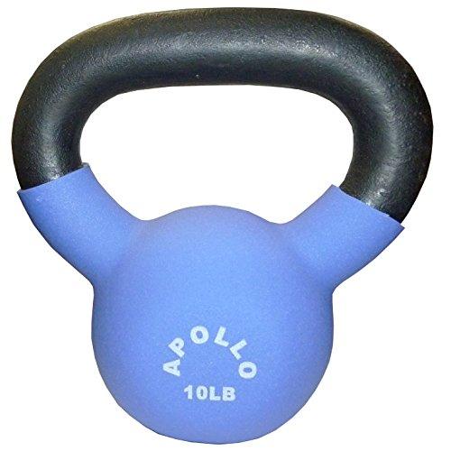 Apollo Athletics Neoprene Coated Kettlebell - 15 lb.