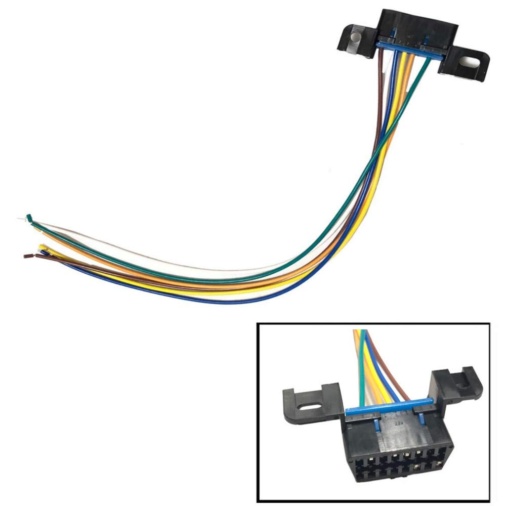 amazon com obdii obd2 j1962 wiring harness connector pigtail can GM Factory Wiring Diagram