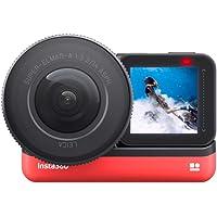 Insta360 ONE R Actiecamera Verwisselbare Lens met FlowState Stabilization IPX8 Waterdicht Spraakbesturing (ONE R 1-Inch…