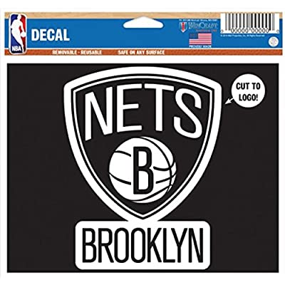 Brooklyn Decal - Removable and Reusable Basketball Sticker : Office Products